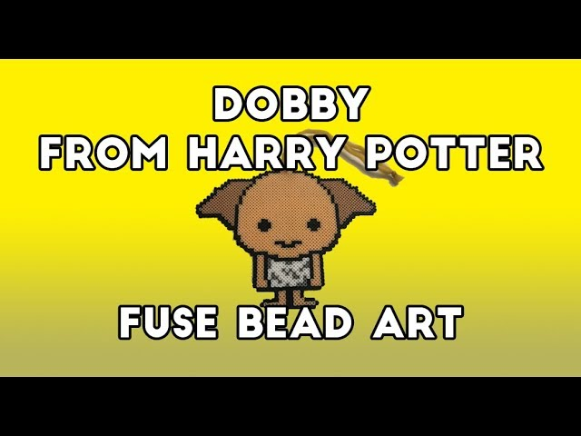 Dobby Fuse Bead Art (Harry Potter Series)