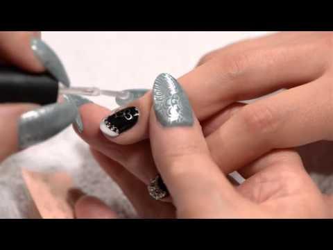 japanese nail art  jewelry double heart charm  youtube