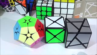 Unboxing #51 : Cubes Non-Officiels ( Dino-cube/Kilominx/Ghost)