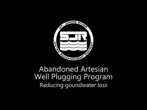 Abandoned Artesian Well Plugging Program