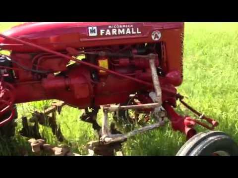 Farmall Super A with Tight Cultivators - YouTube