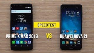 Speedtest - Mobiistar Prime X Max 2018 vs Huawei Nova 2i