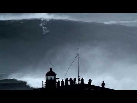 GIANT SURF ACROSS EUROPE : Mullaghmore, Belharra, Mundaka & Nazaré on the biggest swell of the year.