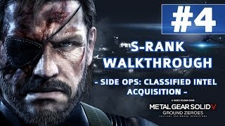 Metal Gear Solid V: Ground Zeroes - S-Rank Walkthrough - Classified Intel Acquisition (Infiltration) thumbnail