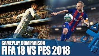 FIFA 18 vs PES 2018: We've Played Them Both - How Do They Compare?
