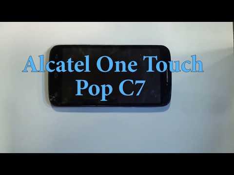 Как разобрать Alcatel One Touch Pop C7, замена сенсора