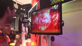 naruto storm 4 demo might guy kakashi sakura vs itachi hinata neji nycc2015