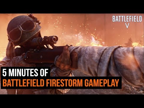5 Minutes of NEW Battlefield Firestorm Gameplay