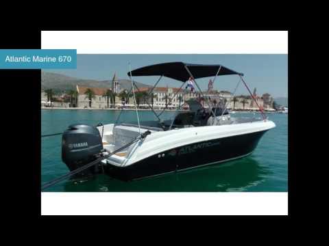 Atlantic Marine 670 Motoryacht Atlantic | Motoryachtcharter in ACI Trogir Kroatien