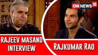 Rajkumar Rao's Fascination With The Villains Revealed | Exclusive Interview With Rajeev Masand