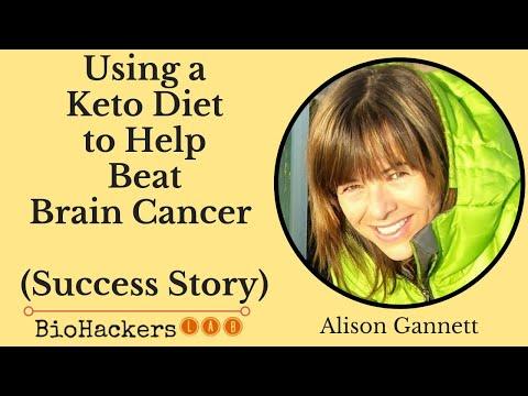 Alison Gannett: Ketogenic Diet Brain Cancer Success Story + Tumor Tips