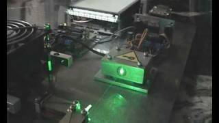 Homemade Laser Projection System