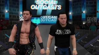 wwe 2k17 universe episode 10 is snme the social outcasts show