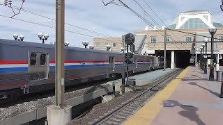 New Viewliner II Baggage Cars through Secaucus while railfanning 3/11/2015 part 2
