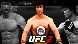 BRUCE LEE Is The TRUTH! EA Sports UFC 2 Online Gameplay!
