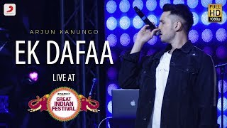 Ek Dafaa - Live @ Amazon Great Indian Festival | Arjun Kanungo