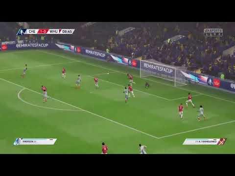 Chelsea Vs West Ham United The Emirates FA Cup Ronda 4 Partido Revancha FIFA 19