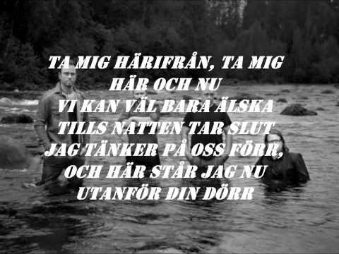 Stiftelsen - Utanför Din Dörr (Lyrics On Screen)