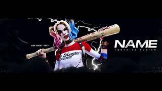 Fortnite Banner - Harley Quinn