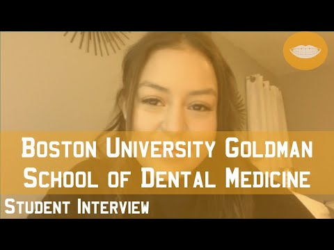 Boston University School Of Dental Medicine Student Interview || FutureDDS