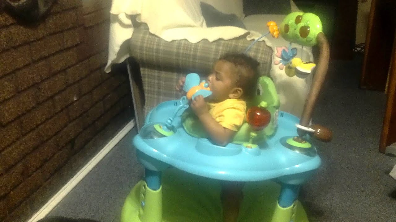 The 8 Month Old Scientist Teething WorkOut