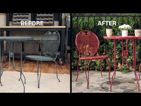 Cheap garden furniture metal