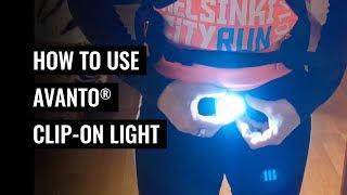 How to Use AVANTO Clip-On Light