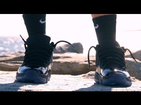 752f27a07c575b Air Jordan Retro 11 Gamma Blue On Foot - Good Looks - YouTube