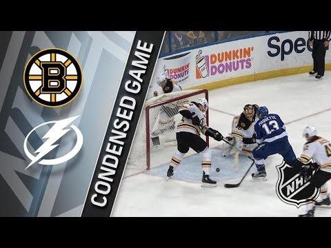 Boston Bruins vs Tampa Bay Lightning – Apr. 03, 2018 | Game Highlights | NHL 2017/18. Обзор