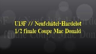 Retour sur le match... U13F // Neufchâtel-Hardelot