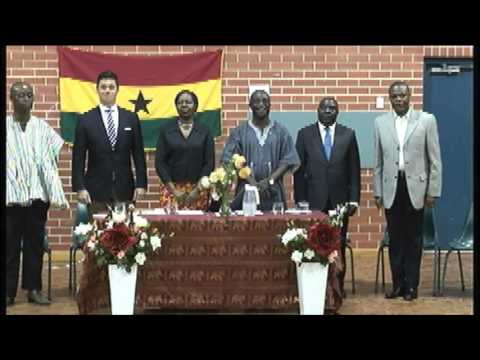 Ghana High Commisioners Visit to Adelaide Part 1
