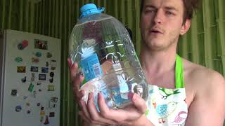Скачать Вода БОНАКВА 5 литров BonAqua Coca Cola Mineral Water Unpack Review World Food