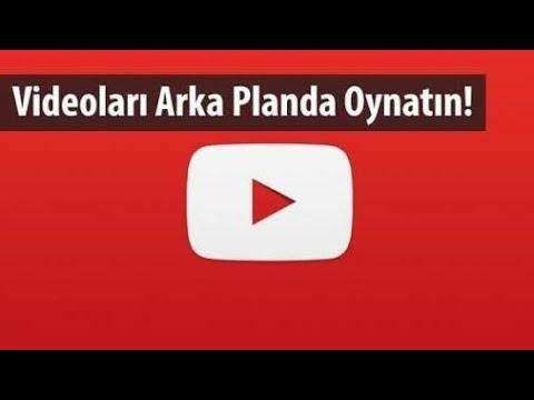 youtube arkaplanda müzik dinleme