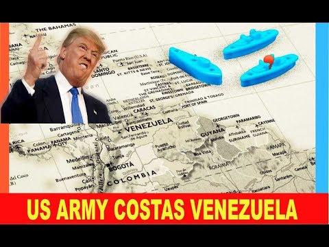 Noticias de Venezuela 19 agosto 2019★★TRUMP ordena BLOQUEO Naval★★ Armada USA★★Miles Kms. costas