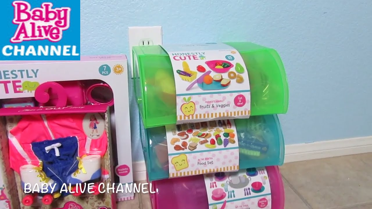 Target Baby Toys : Baby alive target haul honestly cute food set purse