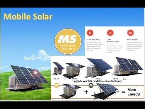 Mobile Solar!