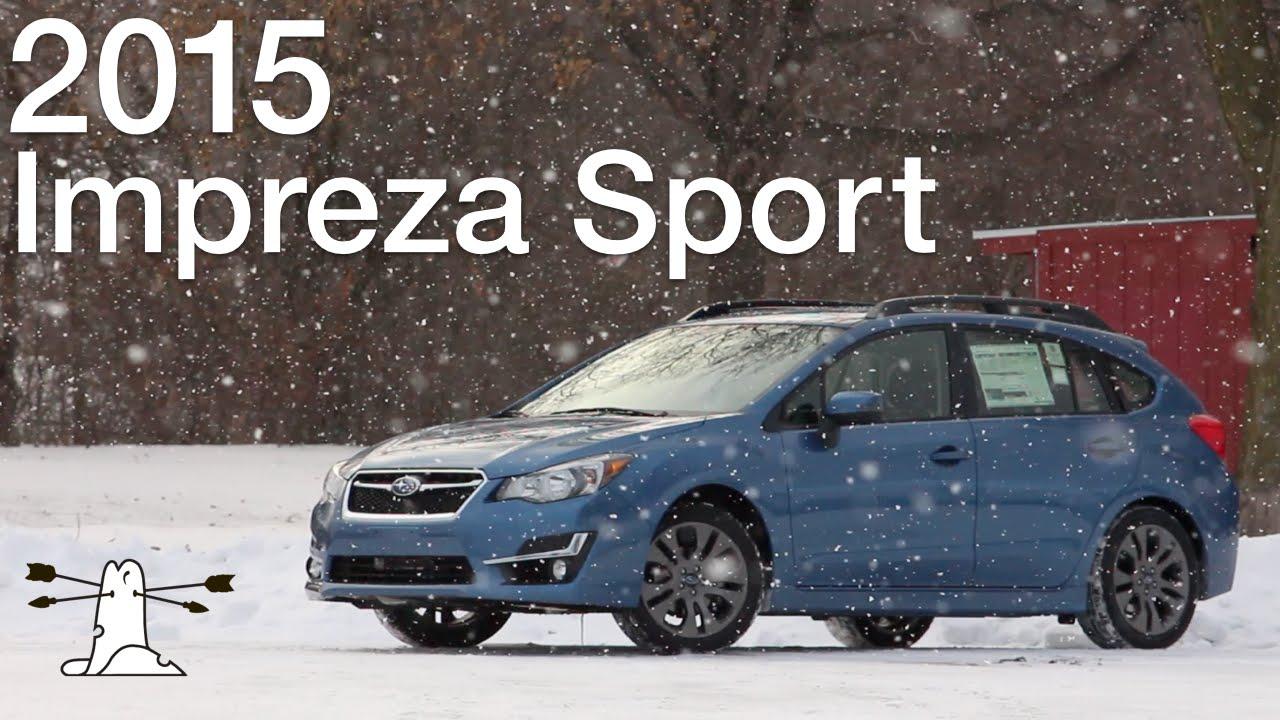 Driven: 2015 Subaru Impreza Sport Premium - YouTube