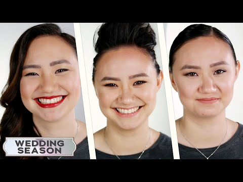 I Tried 3 Wedding Day Looks
