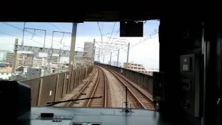 【埼京線の通勤快速 駅飛ばしまくる回復運転 新幹線との並走あり 通常よりも3分も速く走破 赤羽~大宮】