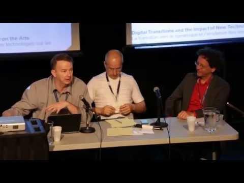 Creative City Summit 2013, Ottawa, ON - Research Panel, David Poole & Alain Depocas