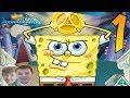 SpongeBob's Atlantis SquarePantis Video Game - PART 1 - Dodge the Splodge!