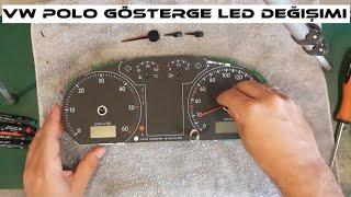 Volkswagen Polo Gösterge Paneli Led Değiştirme  // Vw Polo Dashboard Led Replacement