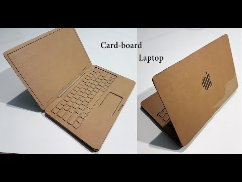 Thumbnail: How to Make A laptop with Cardboard : Apple laptop
