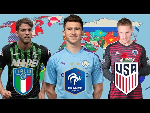 Best Uncapped Footballer From EVERY Country in FIFA's Top 50