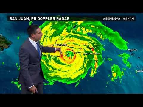Tracking Hurricane Maria as it makes landfall in Puerto Rico