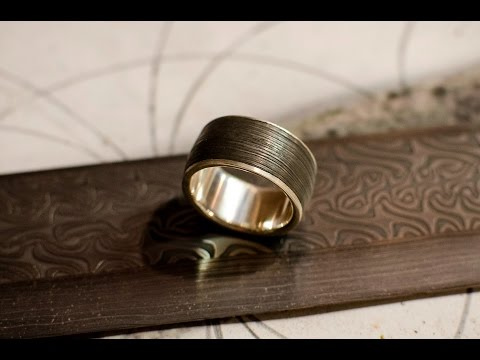 Forging a Damascus Ring