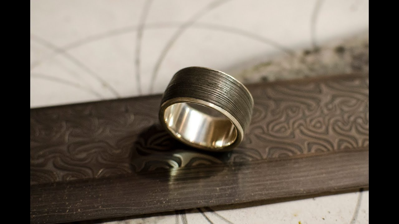 hammered marriage gift p mm polished ring rings gold band il hand finish forged wedding fullxfull