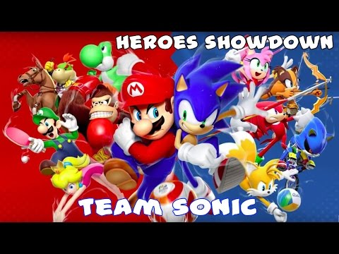Mario and Sonic at the Rio 2016 Olympic Games - Heroes Showdown (Team Sonic)