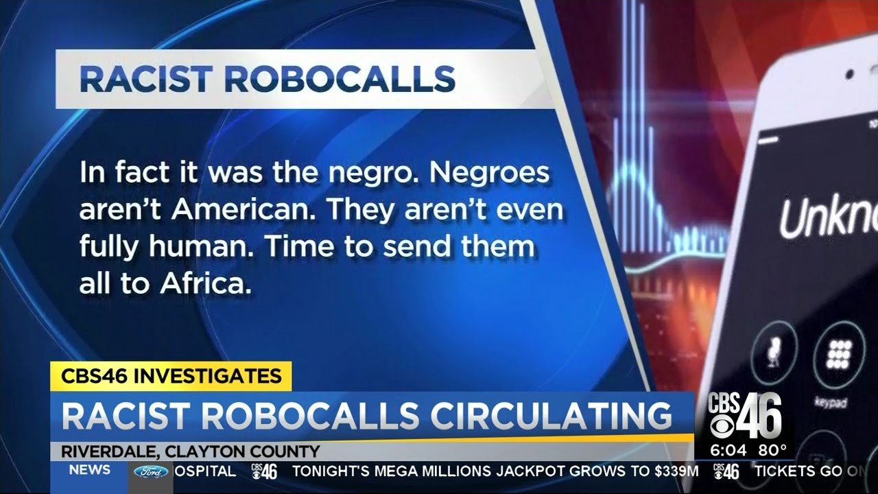 GEORGIA: WS SENDS OUT RACIST ROBOCALLS