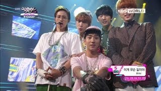 [Music Bank K-Chart] 1st Week of June & B1A4 - What's Going On (2013.06.07)